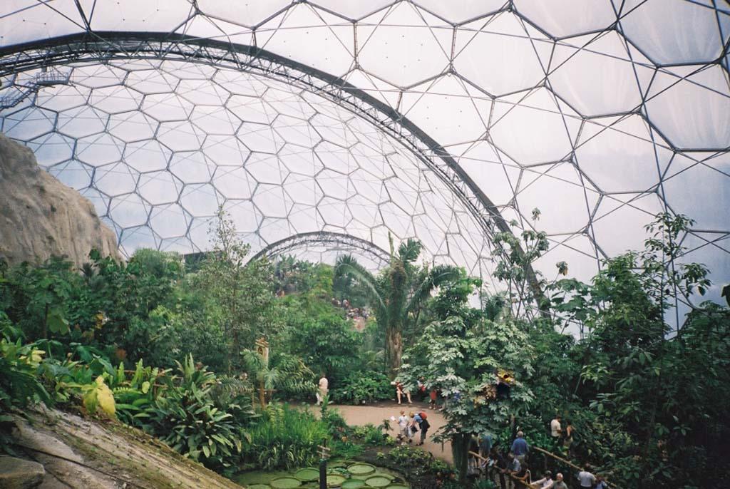 The Largest Greenhouse 6 Самая большая теплица в мире