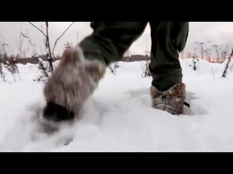 Выживание - делаем снегоступы