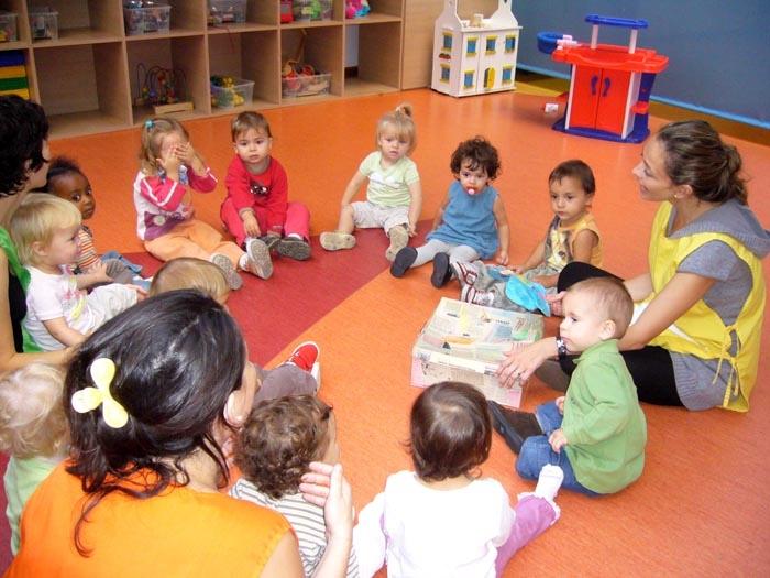 Испанский детский сад.
