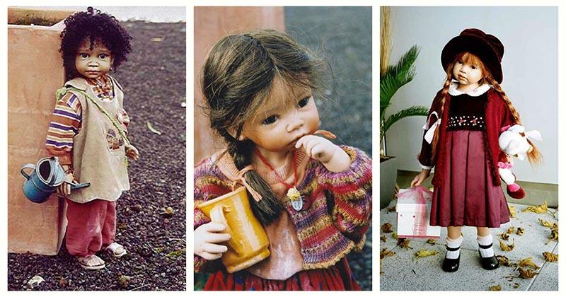 Анжела Саттер создаёт потрясающих реалистичных кукол, от которых не оторвать глаз