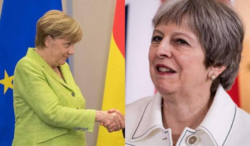 Daily Express: Меркель публично оскорбила премьера Великобритании Мэй
