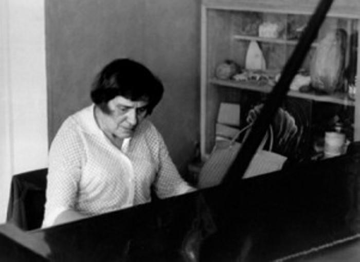 Французская пианистка, эмигрировавшая в СССР   Фото: propianino.ru