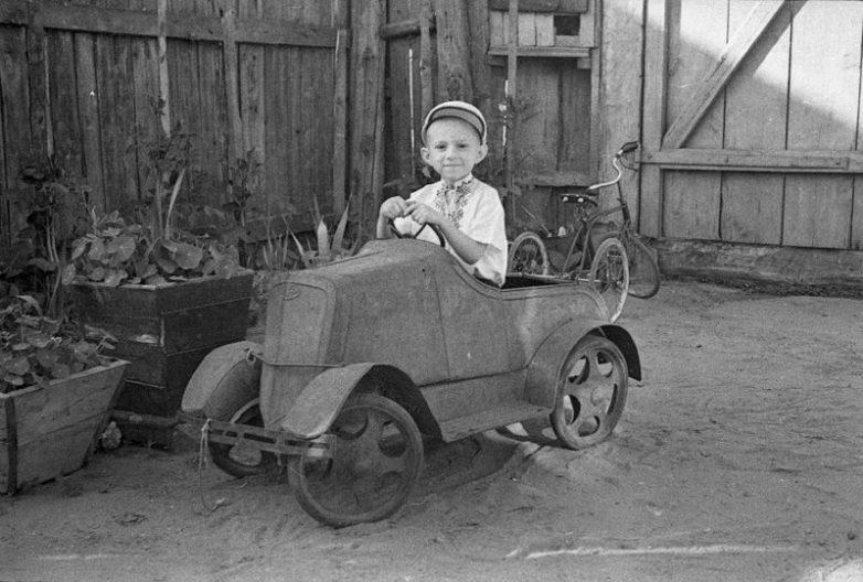 Автомобили советских детей