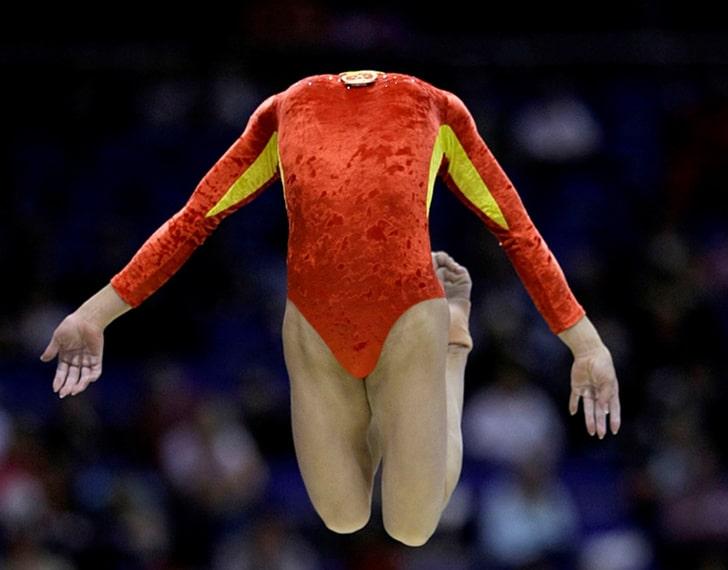 девушка атлет