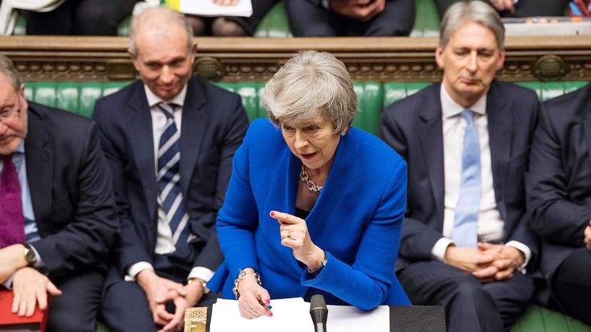 Туск и Мэй обсудили шаги по Брекситу