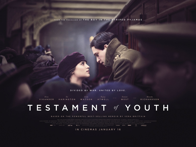 First Poster For Testament Of Youth