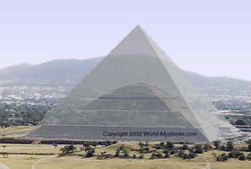 Что общего между Великой Пирамидой Гизы и Храмом Солнца в Теотиуакане.