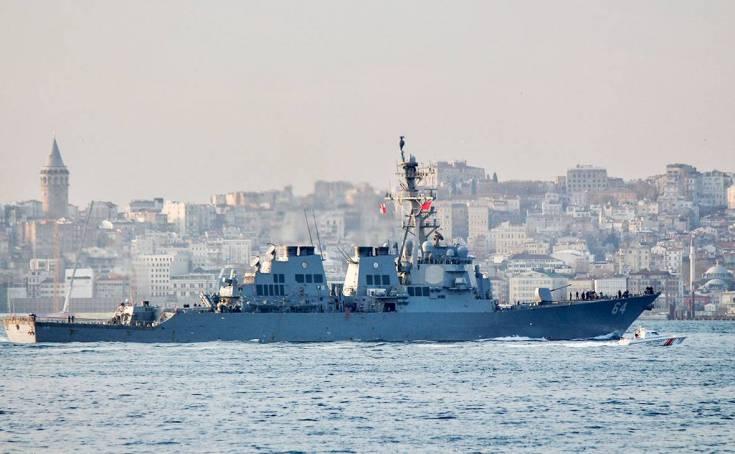 Сигнал США России: Чёрное море далеко не ваше
