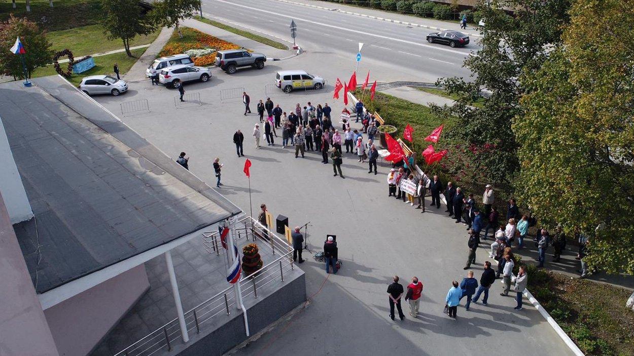 Акция КПРФ в Новосибирске по пенсиям продемонстрировала разочарование людей в коммунистах