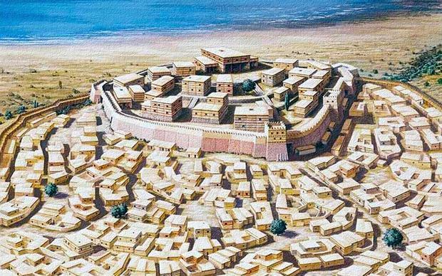 Как царевич Трои на Палестину ходил