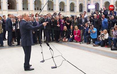 Путин не слышал о скандале вокруг депутата Слуцкого
