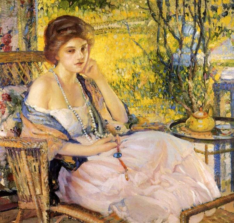 Царство женщины… Американский художник Richard E. Miller (1875 — 1943)