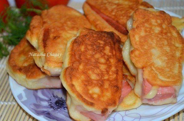 Быстрый и любимый завтрак — Колбаска в нежном кляре!