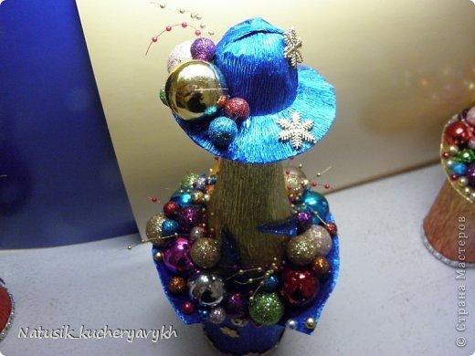 Декор предметов Мастер-класс Новый год Моделирование конструирование новогоднее дефиле + мк Бумага гофрированная фото 19