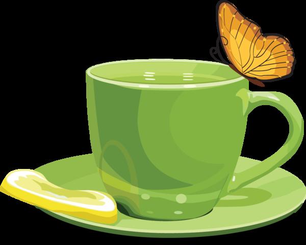 И снова зелёный чай, пьем и худеем