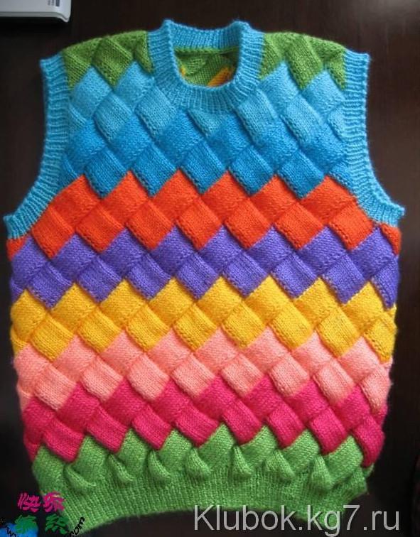 Техника плетеного вязания энтерлак шаг за шагом… Увлекательная технология вязания!