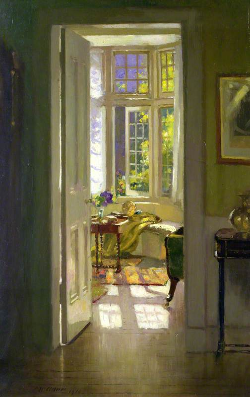 Свежесть утра на полотнах Патрика Уильяма Адама