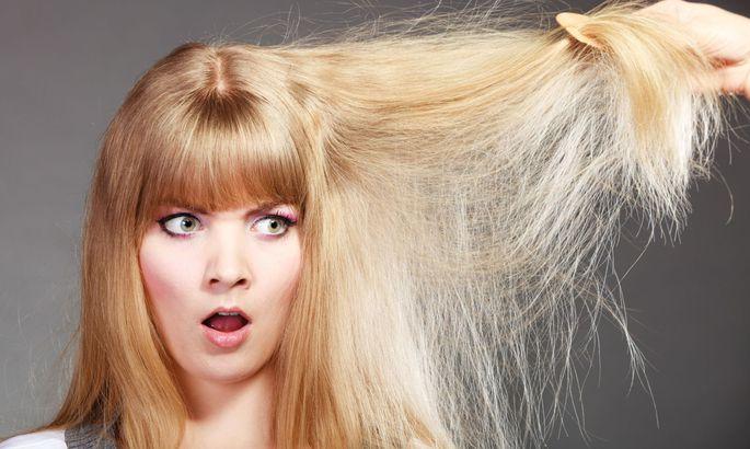 Выпрямление волосы может уби…