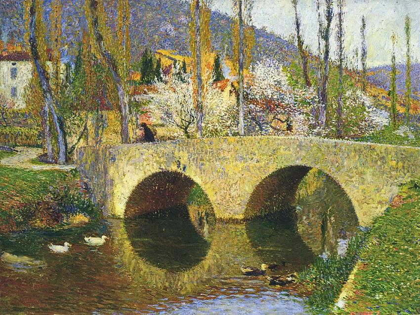 Таинство мира, что просыпается... Французский художник Henri-Jean Guillaume Martin (1860 - 1943)