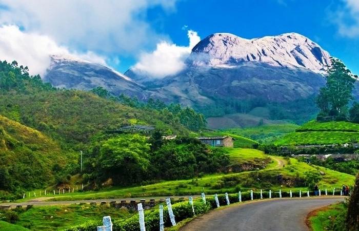 Муннар - маленький городок в штате Керала на юге Индии.