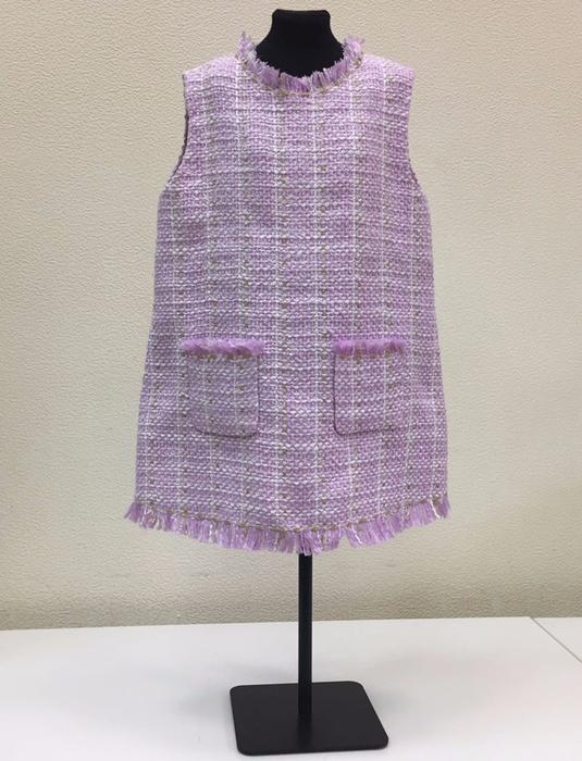 Шъём детское платье-сарафан в стиле шанель