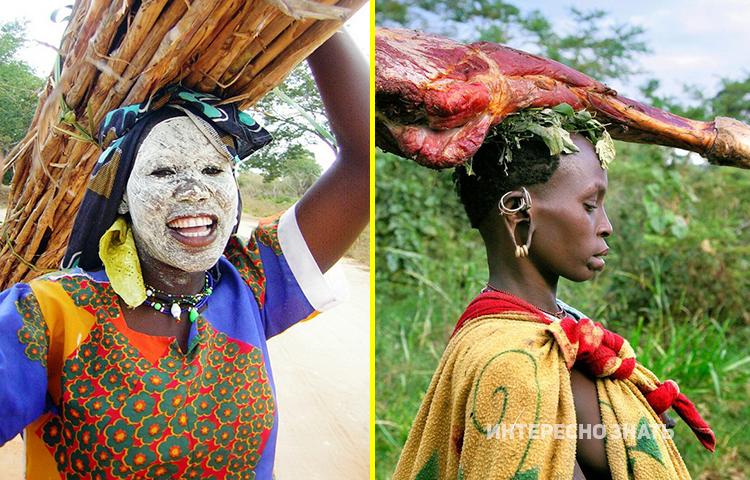 Вот так проходят обычные будни африканских домохозяек