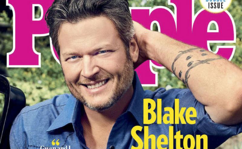 «Я был уродлив всю жизнь»: People назвал Блейка Шелтона самым сексуальным мужчиной 2017 года