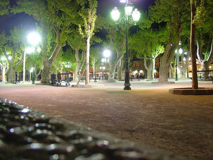 Площадь Лис в Сен-Тропе