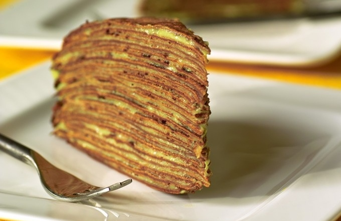 Блинный торт «Маковка»