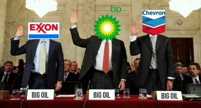 Шестерка Big Oil: начто сег…