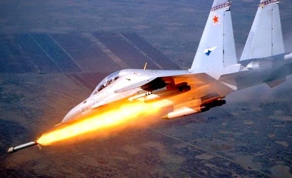 Точные удары ВКС России в Сирии попали на видео