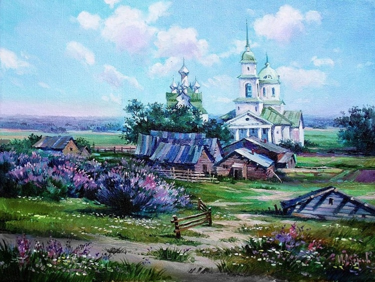 Художник Игорь Озеров. Алый цвет зари