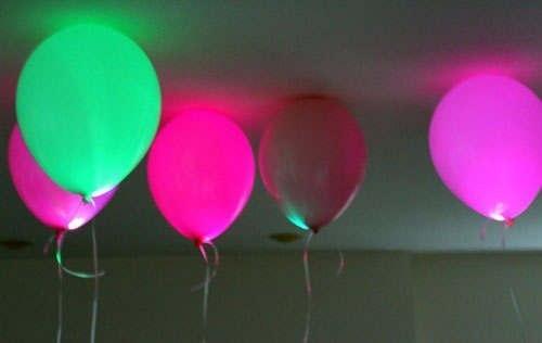 Светящиеся шары на светодиодах своими руками к празднику