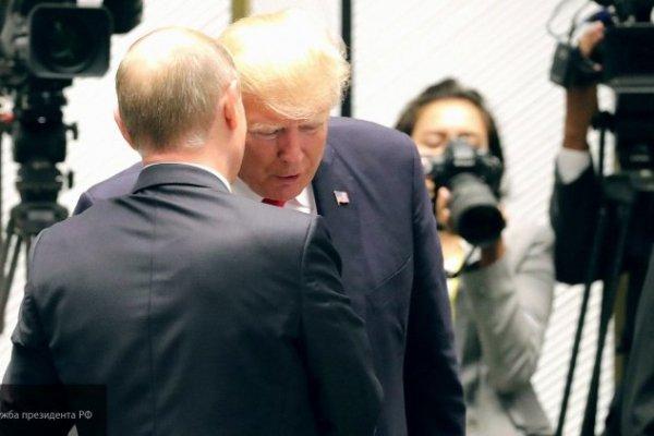 Владимир Путин поблагодарил Трампа за сведения ЦРУ