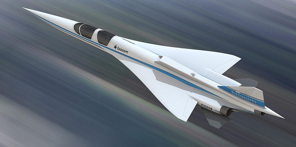 Boom получил 76 заказов на сверхзвуковые самолеты