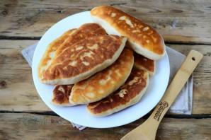 Пирожки со сливой на сковороде - фото шаг 9