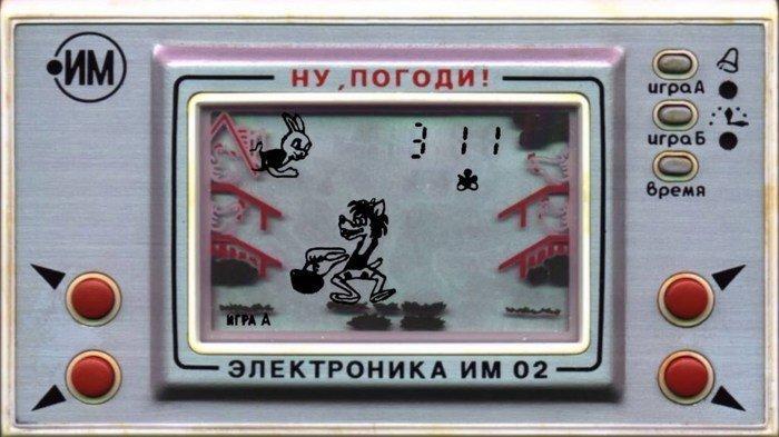 """Супер-идея! Советская игра """"Ну, погоди!"""" в реальности"""