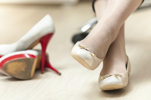 Какую обувь лучше носить при…