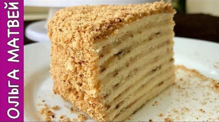 Очень вкусный торт на сковороде