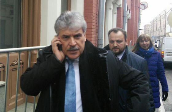Памфилова просит Грудинина срочно предоставить данные о закрытии зарубежных счетов