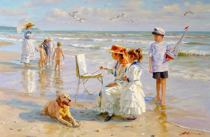 Дети, море, лето. Александр Аверин