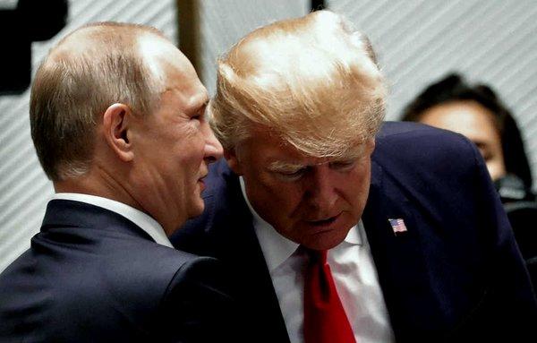Пути и Трамп обсуждали новое решение по Донбассу