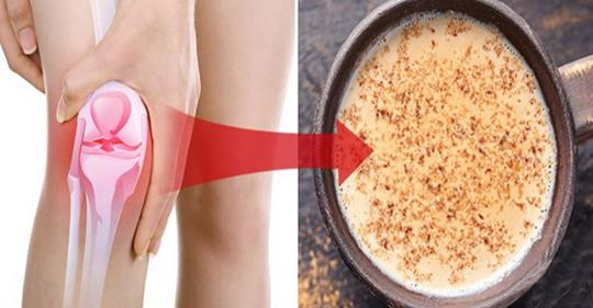 Питайте хрящи и уменьшайте боль в суставах с этим натуральным рецептом природного напитка