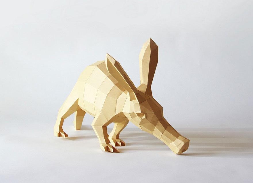 Бумажные звери Вольфрама Кампфмейера