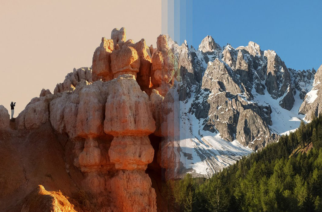 Фотопроект о сходстве разных мест по всему миру