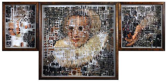 Майкл Мэйпс: портреты-коллажи