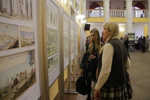 В Пскове открылась выставка работ Иоганна Кристофа Бротце