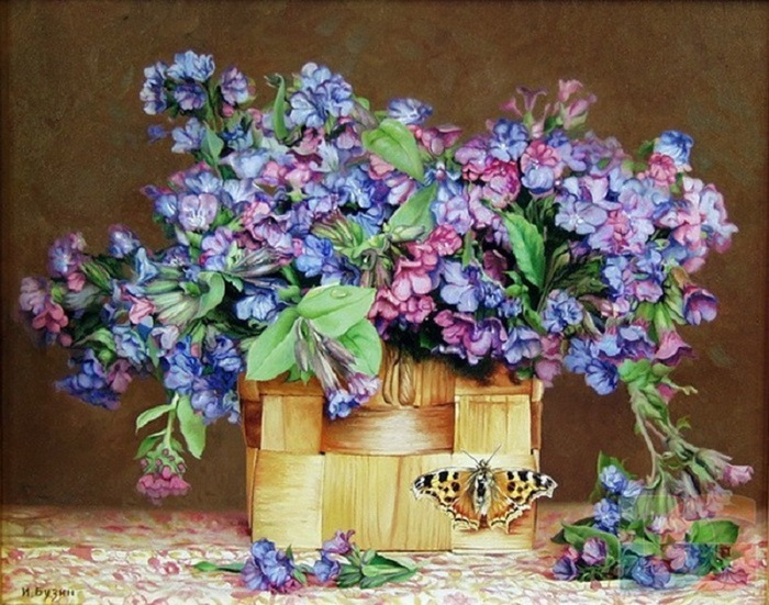 Цветочные натюрморты Игоря Бузина