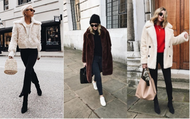 Всегда актуальны: как и с чем носить черные джинсы зимой