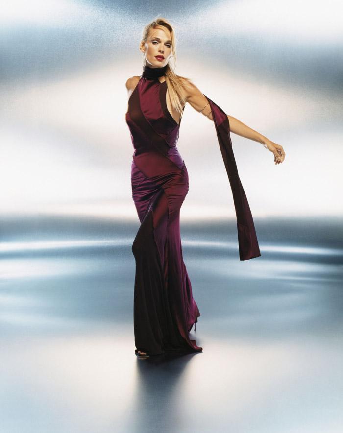 Молли Симс  в фотосессии Санте Д'Орацио